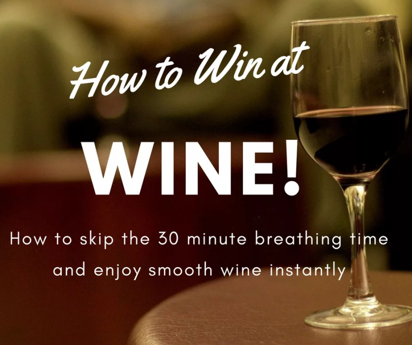 By using an AKHomery Vinturi Wine Aerator, you can eliminate the need to let your favorite red wines breathe! Enjoy tasting your wines almost instantly!