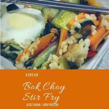 Korean Bok Choy Stir Fry