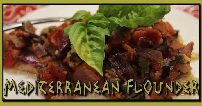 Mediterranean Flounder Recipe from Mediterranean Diet: Easy Recipes for A Healthy Diet by Daniel Alley
