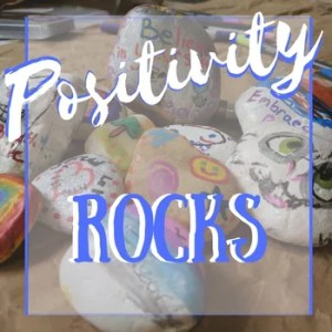 How To Paint Positivity Rocks that encourage people