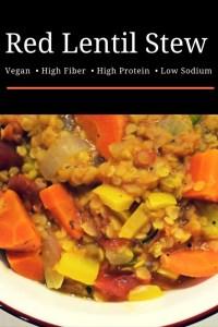 Red Lentil Soup Recipe | Low-Sodium | Dash Diet
