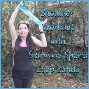 Want strong shoulders? Try this loop band routine!
