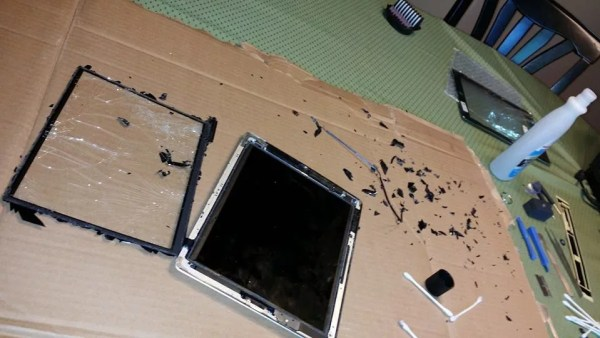 Broken tablet may have been protected by intelliGLASS Hardened Glass Screen Protector