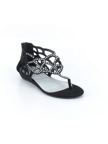 Y Not? Embellished Strappy Sandals. I actually wore these with several outfits.
