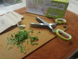 5 blade Chefast scissors