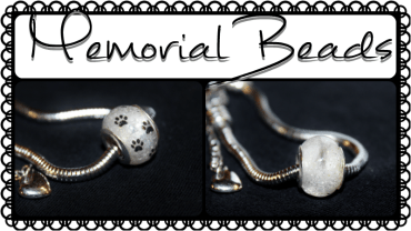 Pandora-style Memorial Bead Jewelry by CraftyCompliments