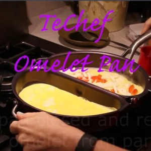 The perfect omelet pan makes breakfast easy!