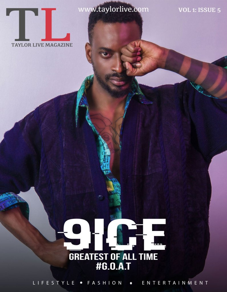 Greatest Of All Time 9ice Covers Taylor Live Magazine's Latest Issue