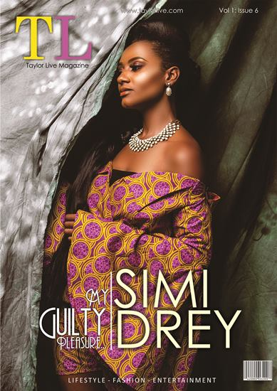 My Guilty Pleasure! SIMI DREY Covers Taylor Live Magazine's Latest Issue