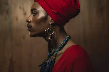 Photographer Lex Ash explores African Androgyny in stunning Editorial