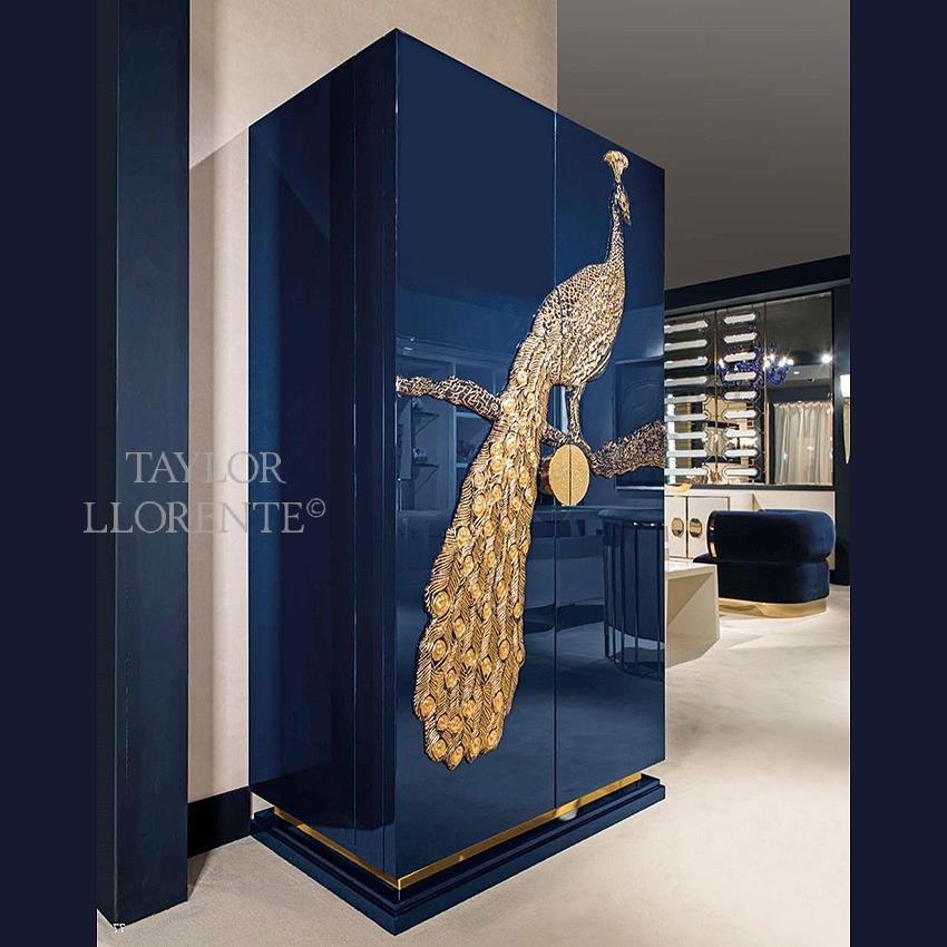 LUXURY COCKTAIL CABINETS  PEACOCK  TAYLOR LLORENTE FURNITURE
