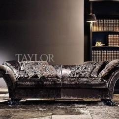 Wood Frame Leather Sofas What Is A Futon Sofa Lion Paw Designer 4910 | Taylor Llorente Furniture