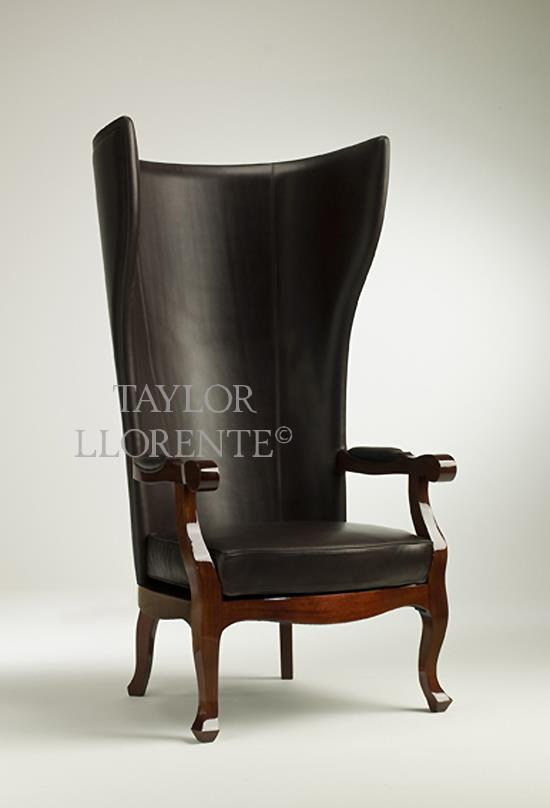 tall back dining chairs real comfort adirondack porters chair designer   taylor llorente furniture
