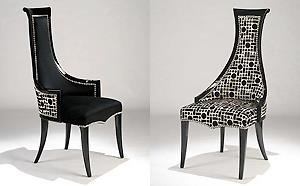 LUXURY DINING CHAIRS  Sculptural  Designer Dining Chairs