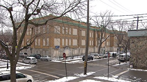 École Baril in Hochelaga-Maisonneuve, one of the CSDM's many condemned schools.