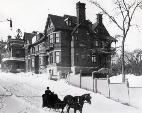 The Redpath House in better times...