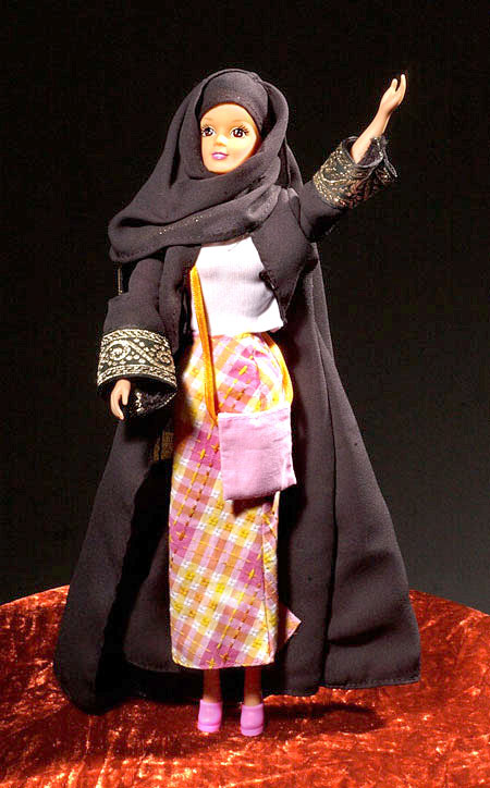 The new Chador Barbie is a big hit in countries where women  can be stoned for witchcraft