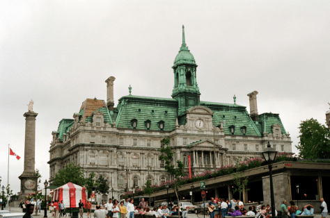 City Hall ca. early 1990s - credit to Clare and Ben (found on Flickr group Vanished Montreal)