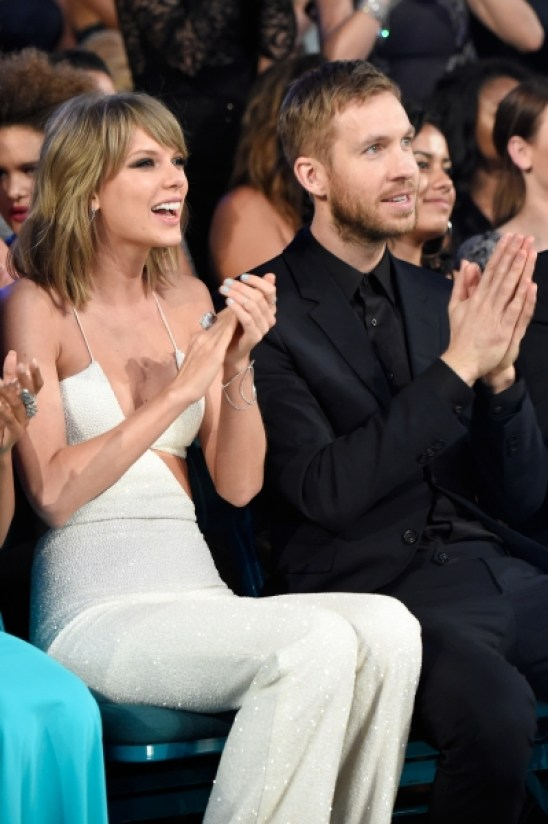 taylor swit and calvin harris at billboard music awards 2015