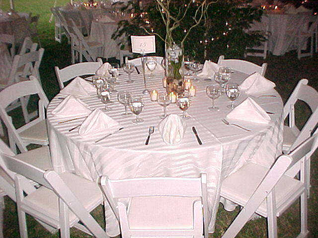 White Party Chairs  Taylor Rental of Torrington