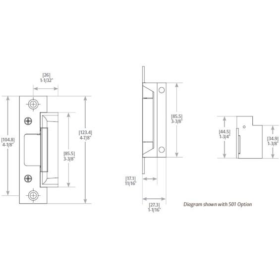 HES Series 5000C-5000CLBM-5000C LBM-5000C-LBM Electric