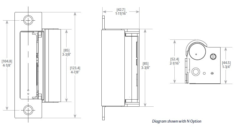 Taylor Wiring Diagram Hes 1006 Electric Strikes Hes 1006 1006f 1006lbm 1006