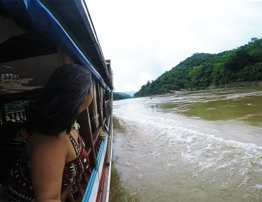 Slow Boat to Laos on the Mekong www.taylorstracks.com