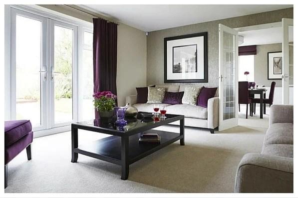 Purple Living Room Ideas Uk