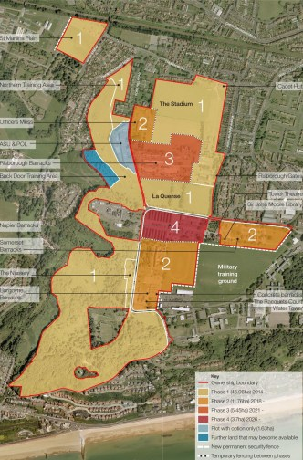 Image result for Taylor Wimpey Shorncliffe Garrison phase map