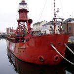 North Carr Lightship, Victoria Dock