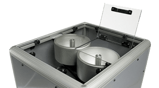 DCP1000 - Dual Motorized Coiling Pan