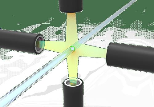 4 camera vision system for medical tubing