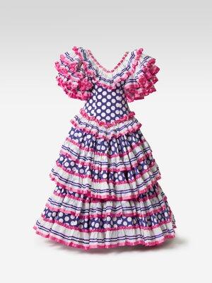 Pink flamenco dress