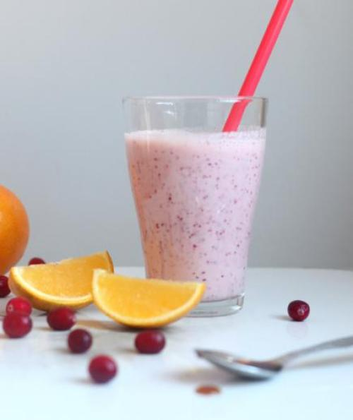 Fresh Cranberry Smoothie