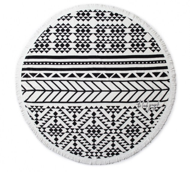 The beach people roundie towel