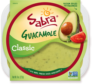 Sabra guacamole for a backyard picnic or party