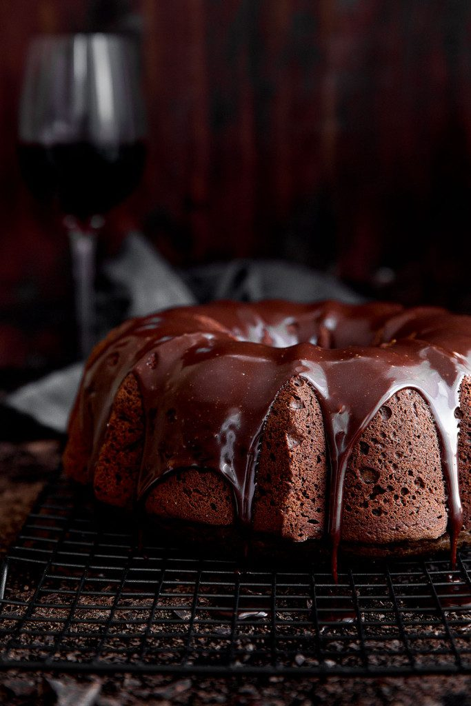 chocolate cake red wine dessert recipe