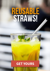 sustainable camping reusable straws