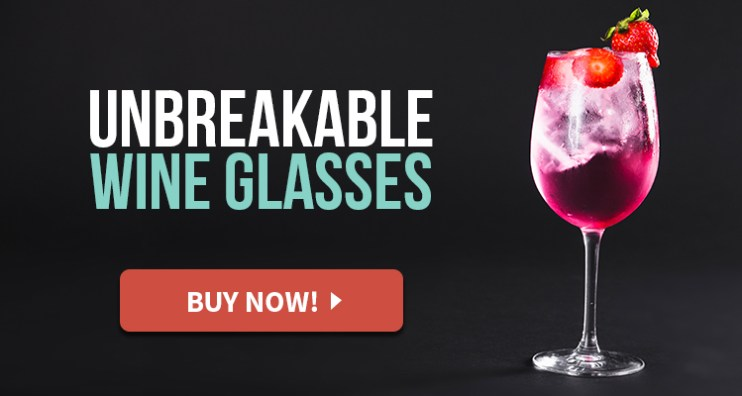 stemmed unbreakable wine glasses
