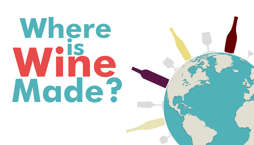 Where is wine made?