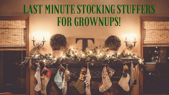 last minute stocking stuffers for grownups