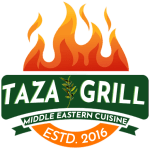 taza grill east lyme logo
