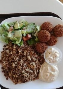 taza grill east lyme falafel
