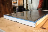 DIY Concrete & Pipe Fitting Coffee Table - Taz and Belly