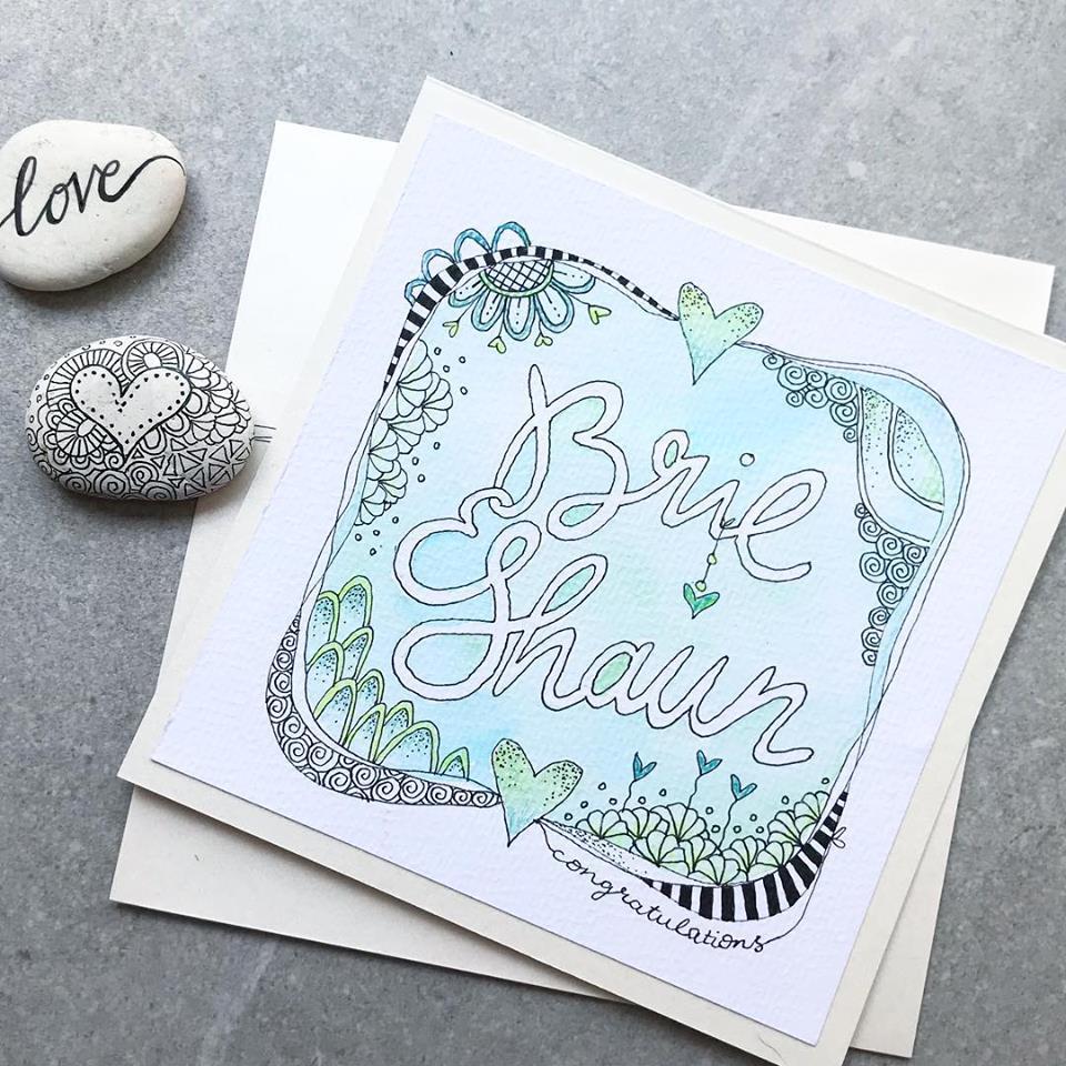 Tazi Wedding Card