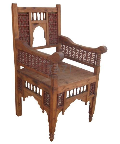 Moroccan Chair Essaouira  Tazi Designs