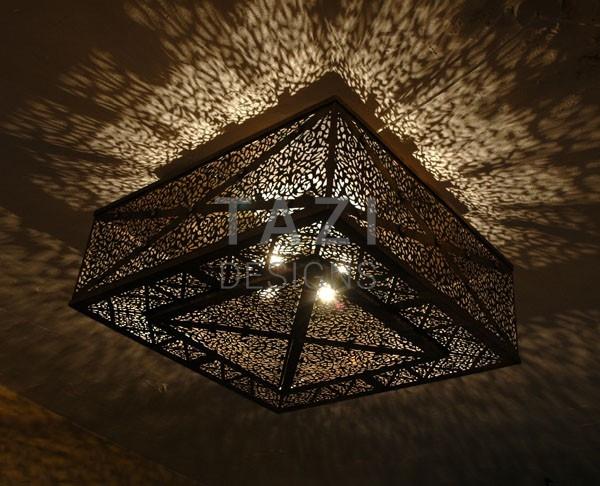 Flush Mount Ceiling Light 27 Tazi Designs
