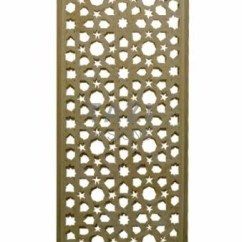 Flush Mount Kitchen Lights 6 Person Table Arabesque Cedar Lattice Screen – Tazi Designs
