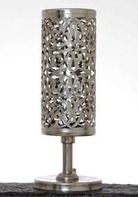 Modern Moroccan Table Lamp  Tiffany  Tazi Designs