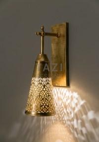 Gratus Moroccan Wall Sconce  Tazi Designs